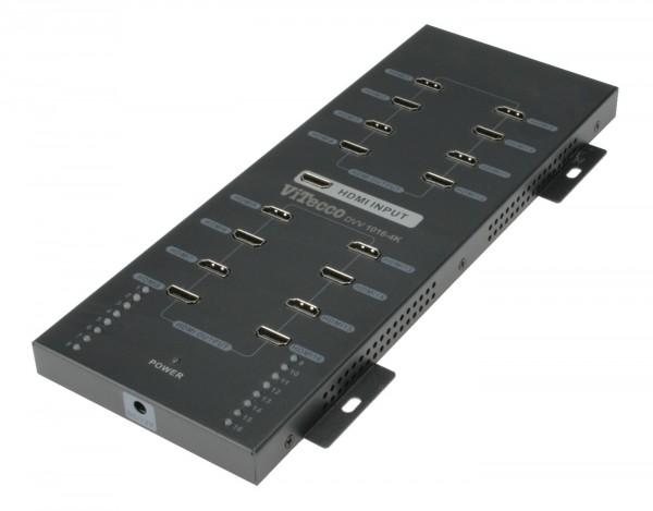 HDMI Verteiler 16-fach, Verteiler 1 auf 8 HDMI - DVV 1016-4k