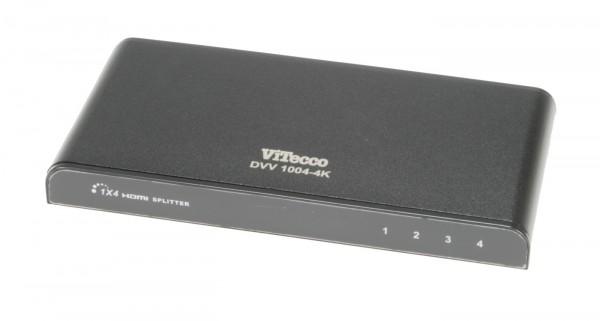HDMI Verteiler 4-fach, Verteiler 1 auf 4 HDMI - DVV 1004