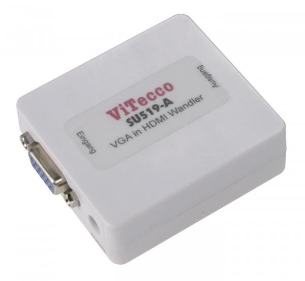 SU519-A hochleistungs VGA in HDMI - Konverter