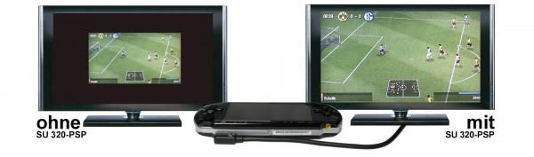 YUV + Audio-Stereo auf HDMI - SU 320-PSP