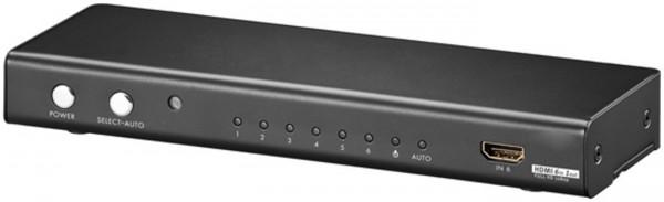 6-fach HDMI Umschalter, 4:1 HDMI Switch, DVS6001-W