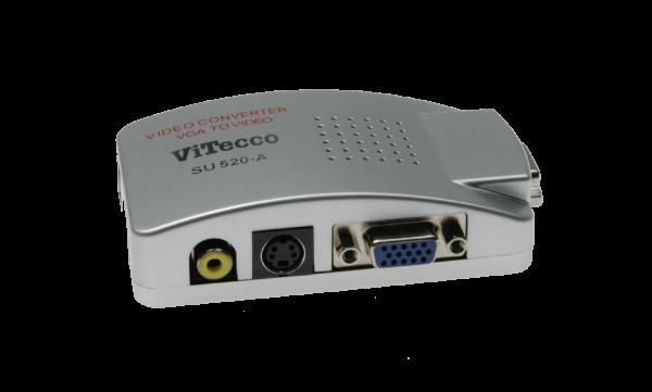 VGA in FBAS / S-Video - Konverter - SU 520-A