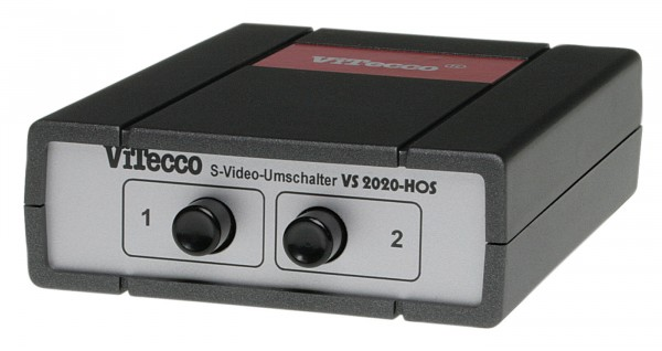 Umschalter S-Video YC S-VHS / 2 In - 1 Out - VS2020