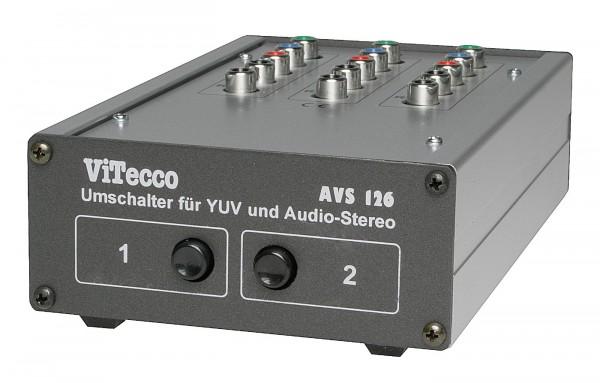 Umschalter YUV + Stereoton - AVS 126