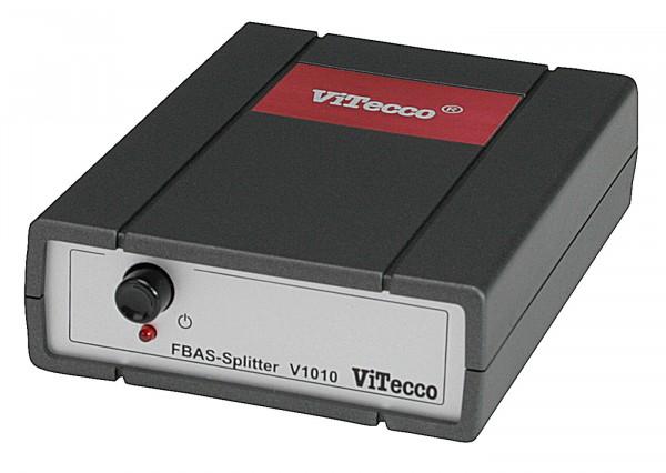 V 1010 AC02Y-BNC = 2fach Verteiler für FBAS-Video