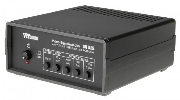 YUV in RGB Scart und VGA - Konverter - SU 315