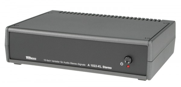 Audio Verteiler / Splitter 10fach - A1022-KL (AVV 1022)