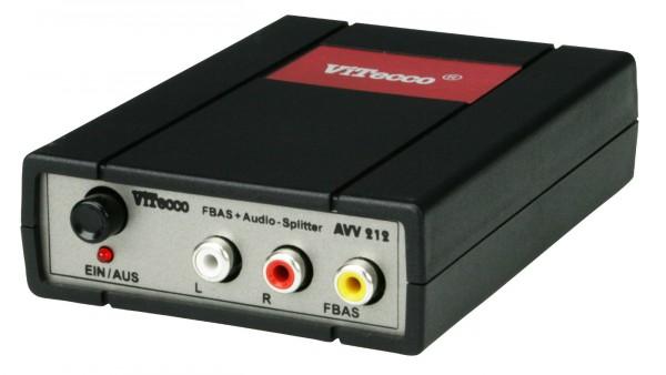 AVV 212 - Splitter FBAS Audio