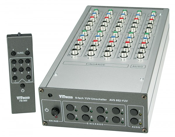 Umschalter YUV Audio Stereo - AVS 852