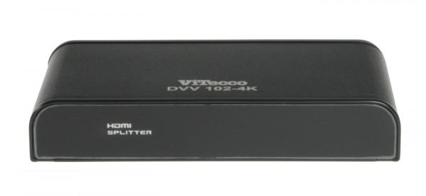 2fach HDMI Verteiler, 1:2 HDMI Splitter HDMI Verteiler-DVV102-4k
