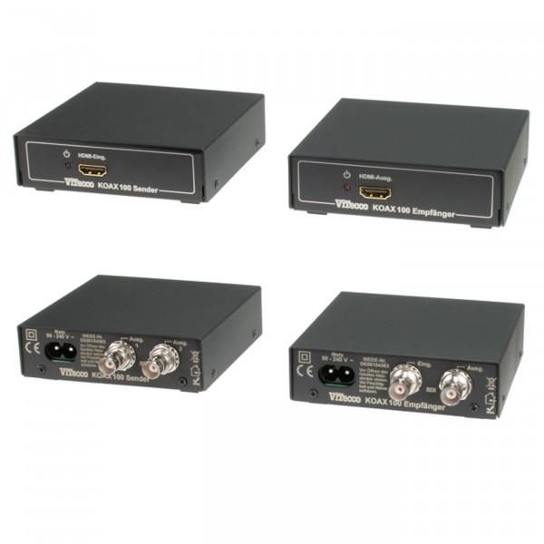 Koax 100 HDMI Extender über Koaxkabel