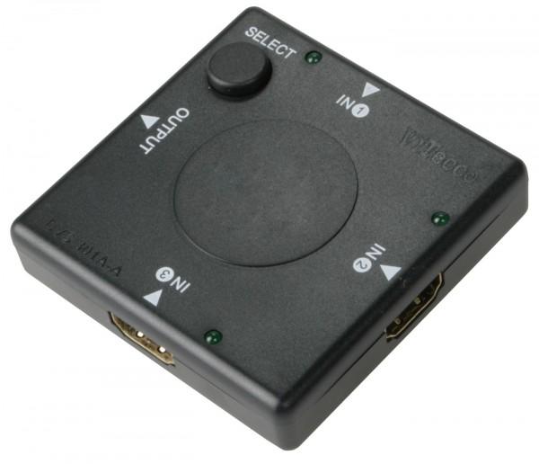 3fach HDMI Umschalter, 3:1 HDMI Switch, DVS301A-A