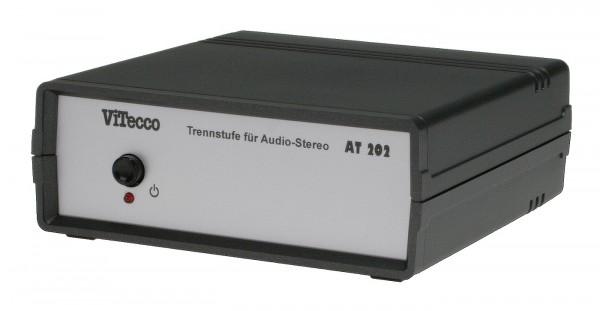 AT 202 = Trennstufe / galvanische Trennung für Audio-Stereo