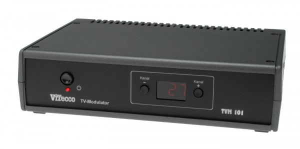 Audio-Video- HF-Modulator, Video Modulator | TVM 101