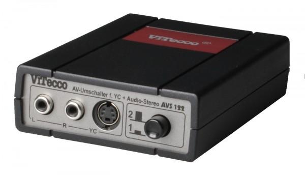 AVS 122 passiver Umschalter für YC und Audio-Stereo