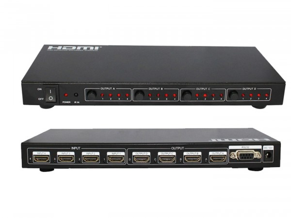 4x4 HDMI-Matrix 4x4 HDMI-Matrix ViTecco 4004A