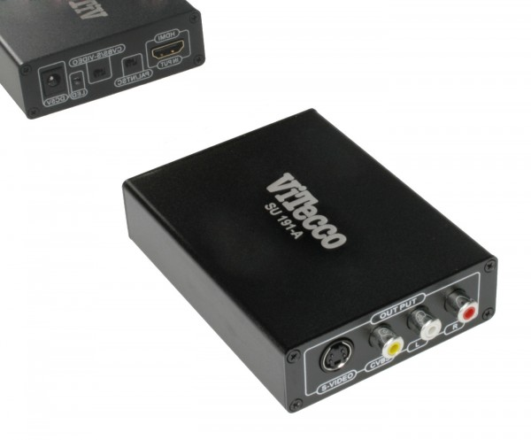 HDMI in FBAS oder S-Video - Wandler - SU 191-A