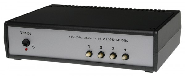 Umschalter 4fach Video BNC / 4 In - 1 Out - VS 1040-AC-BNC