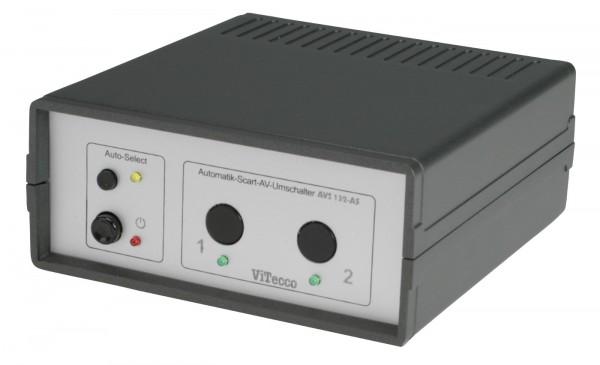 Scart Umschalter 2fach mit Automatik - AVS 132-AS
