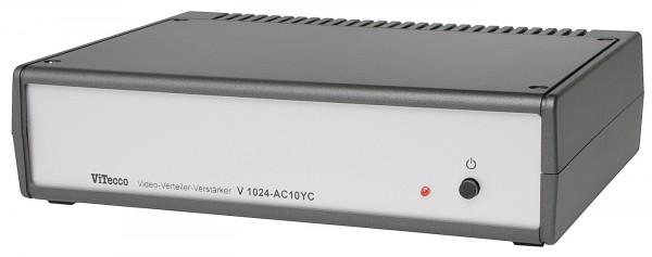 V 1024-AC10YC-HOS = 10fach Verteiler für S-Video (YC)