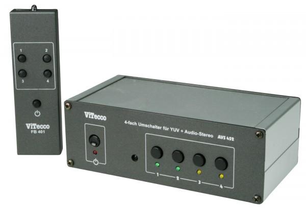 Umschalter YUV Audio Stereo - AVS 452